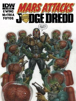 cover image of Mars Attacks Judge Dredd (2013), Issue 1
