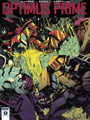 cover image of Optimus Prime (2016), Issue 9