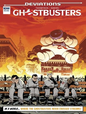 cover image of Ghostbusters: Deviations