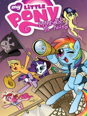 cover image of My Little Pony: Friendship is Magic, Volume 4