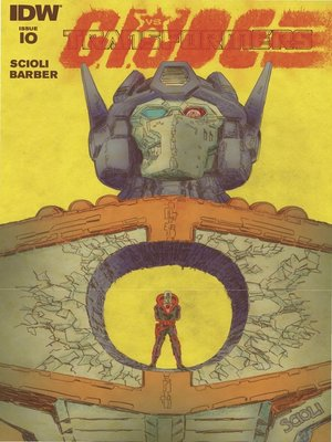 cover image of Transformers vs. G.I. Joe (2014), Issue 10
