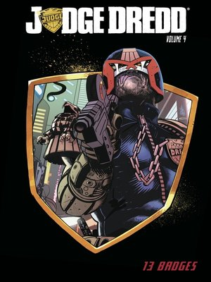 cover image of Judge Dredd (2012), Volume 4