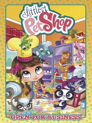 cover image of Littlest Pet Shop: Open for Business