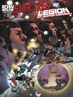 cover image of Star Trek/Legion of Super-Heroes (2011), Issue 6