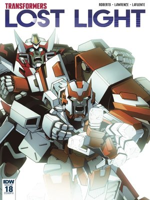 cover image of Transformers: Lost Light (2016), Issue 18