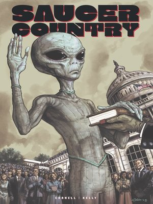 cover image of Saucer Country