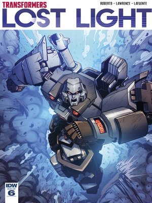 cover image of Transformers: Lost Light (2016), Issue 6