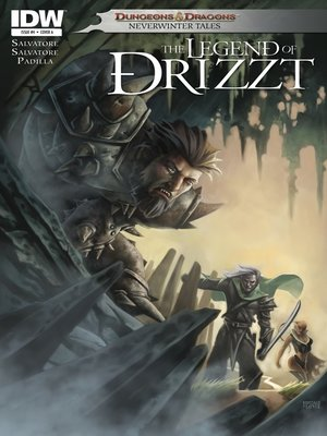 cover image of Dungeons & Dragons: The Legend of Drizzt (2011), Issue 4