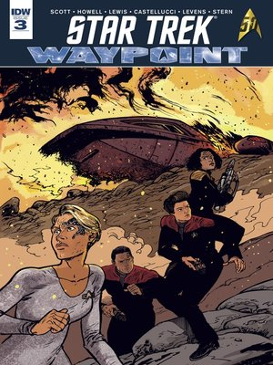 cover image of Star Trek: Waypoint (2016), Issue 3
