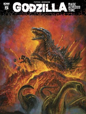 cover image of Godzilla: Rage Across Time (2015), Issue 5