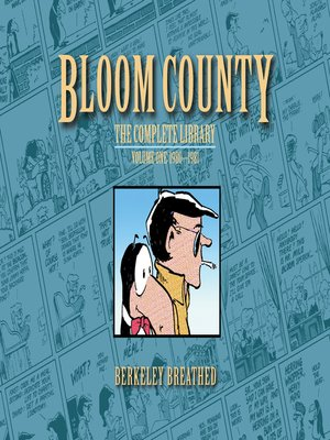 cover image of Bloom County Digital Library, Volume 1