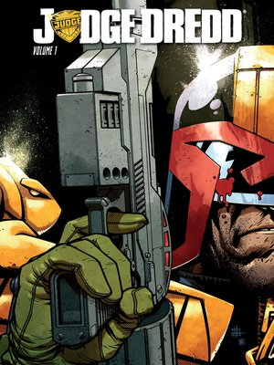 cover image of Judge Dredd, Volume 1