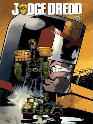 cover image of Judge Dredd, Volume 3