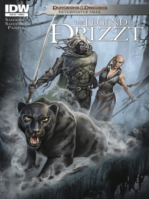 cover image of Dungeons & Dragons: The Legend of Drizzt (2011), Issue 3
