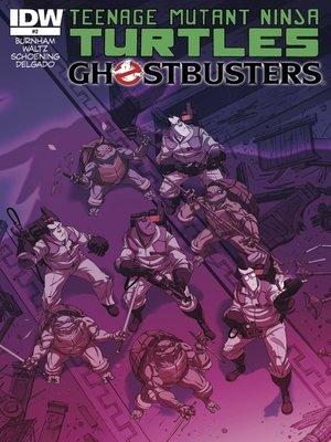 cover image of Teenage Mutant Ninja Turtles/Ghostbusters (2014), Issue 2