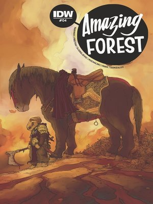 cover image of Amazing Forest (2016), Issue 4