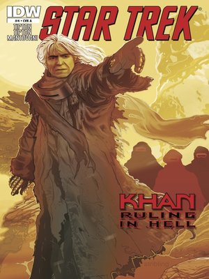 cover image of Star Trek: Khan Ruling in Hell (2010), Issue 4