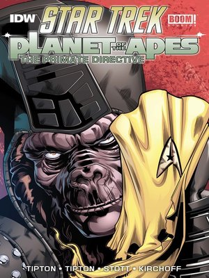cover image of Star Trek / Planet of the Apes: The Primate Directive