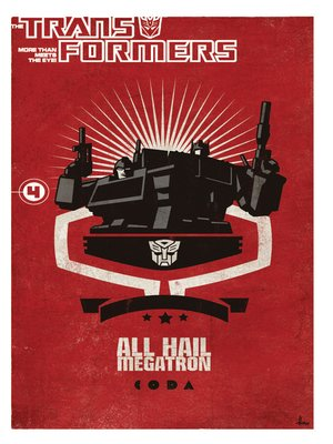 cover image of Transformers: All Hail Megatron, Volume 4