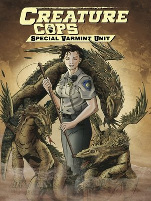 cover image of Creature Cops: Special Varmint Unit