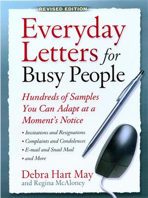 cover image of Everyday Letters for Busy People