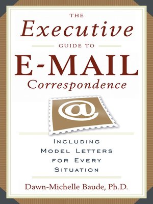 cover image of The Executive Guide to E-mail Correspondence