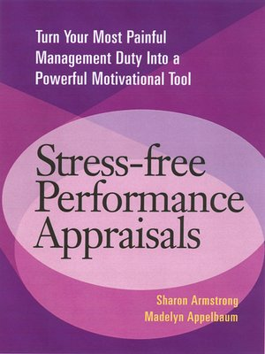 cover image of Stress-Free Performance Appraisals
