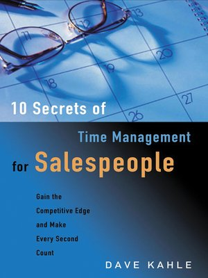 cover image of 10 Secrets of Time Management for Salespeople