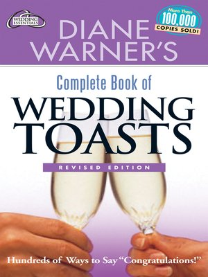cover image of Diane Warner's Complete Book of Wedding Toasts