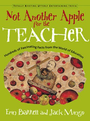 cover image of Not Another Apple for the Teacher