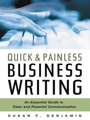 cover image of Quick & Painless Business Writing