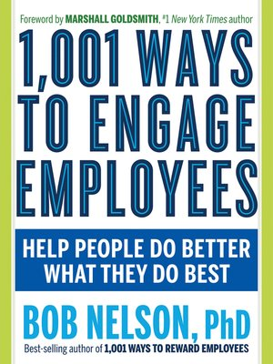 cover image of 1,001 Ways to Engage Employees