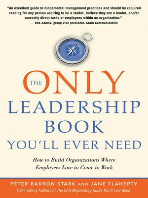 cover image of The Only Leadership Book You'll Ever Need