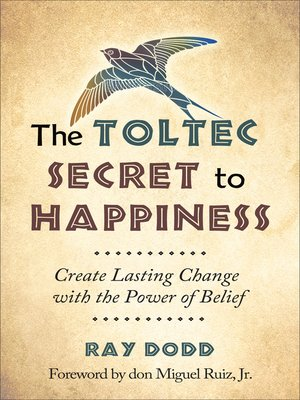 cover image of Toltec Secret to Happiness