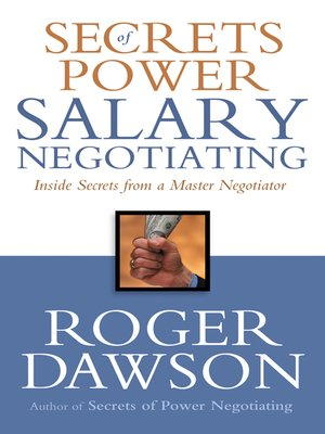 cover image of Secrets of Power Salary Negotiating