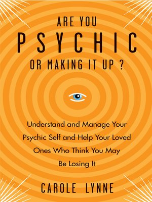 cover image of Are You Psychic?