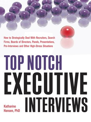 cover image of Top Notch Executive Interviews
