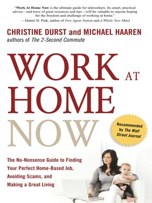 cover image of Work at Home Now