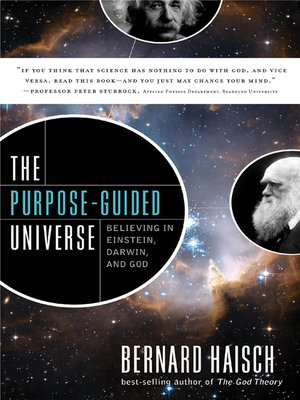 cover image of The Purpose-Guided Universe