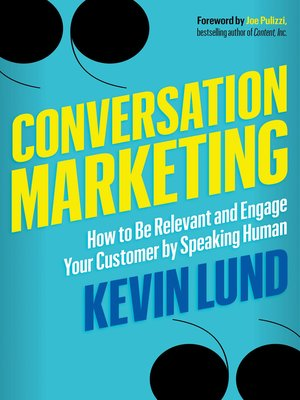 cover image of Conversation Marketing