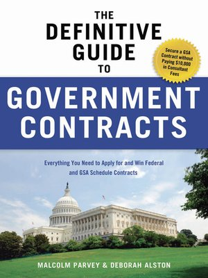 cover image of The Definitive Guide to Government Contracts