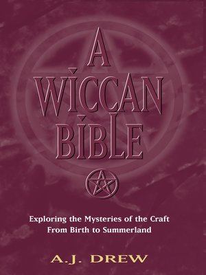 cover image of A Wiccan Bible