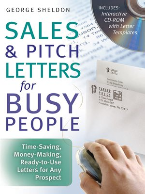 cover image of Sales & Pitch Letters for Busy People