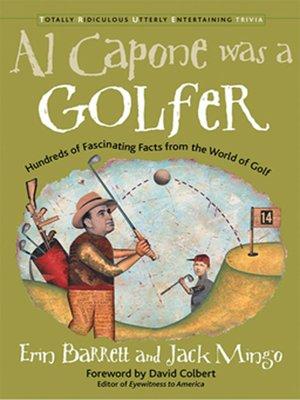 cover image of Al Capone Was a Golfer