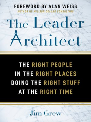 cover image of The Leader Architect