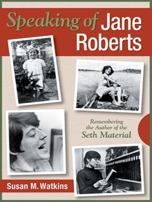 cover image of Speaking of Jane Roberts