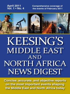 cover image of Keesing's Middle East and North Africa News Digest, April 2011