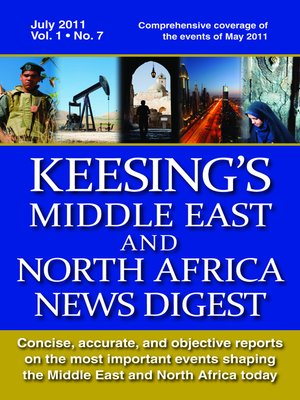 cover image of Keesing's Middle East and North Africa News Digest, July 2011