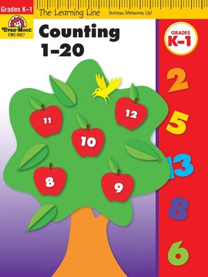 cover image of Counting 1-20