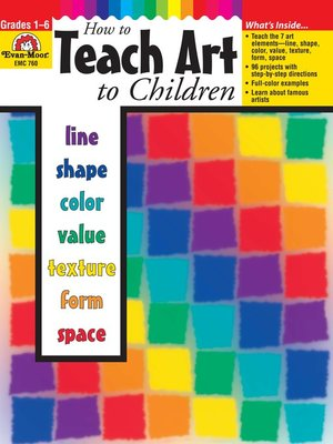 cover image of How to Teach Art to Children, Grades 1-6